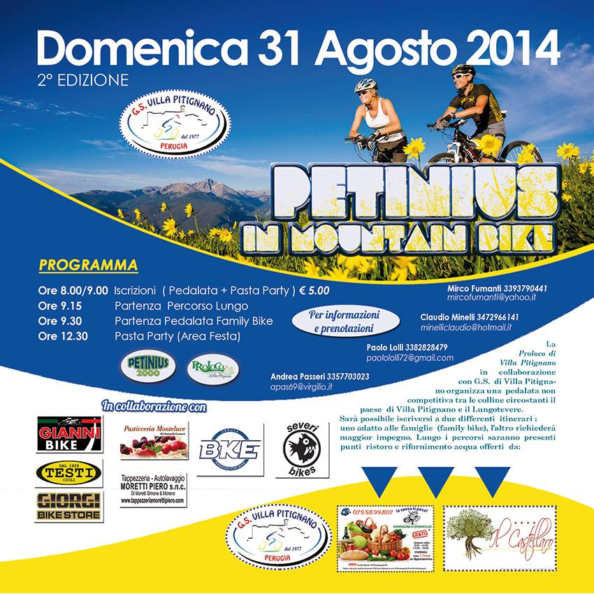 Mountain Bike 31 agosto