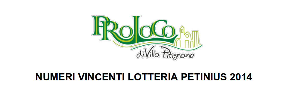 Numeri vincenti lotteria 2014